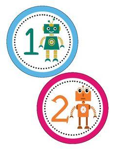 Robot Themed Classroom Setup... everything you need to complete your robot themed classroom! One stop shop!