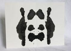 Ink blot art ORIGINALl 9x12 inspired by by RubyMoonDesigns on Etsy (Art & Collectibles, Painting, Ink, ink blot, inkblot, rorschach, psychology, psychologist, gothic art, dark art, black, white, black ink, ink blob, original art, alien)