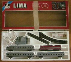 Indian Pacific HO Scale Lima Train Set