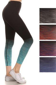 Color Block Workout Leggings