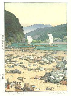 Mokuhankan Catalogue : Tenryu River