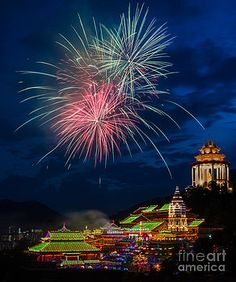 Majestic Buddhist temple
