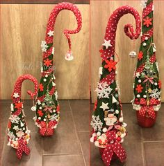 Grinch Christmas Decorations, Small Christmas Trees, Winter Christmas, Christmas Time, Xmas, Holiday Decor, Flower Arrangements, Shapes, Flowers