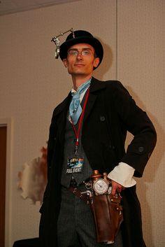 Cool steampunk gentleman