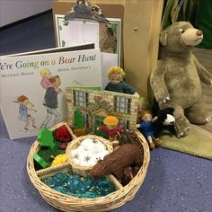 Story basket - we're going on a bear hunt