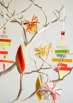 DIY Holiday Crafts: Christmas Ornaments by Apartment Therapy.