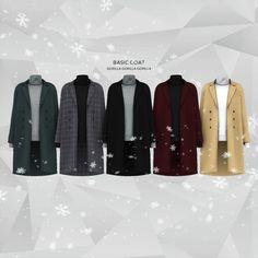 Lana CC Finds - gorillax3: Basic Coat Top New Mesh All LOD's...