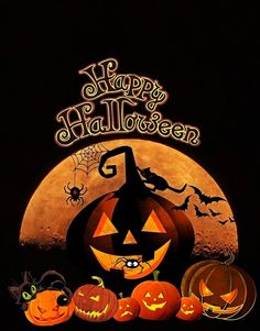 Happy Halloween Banner, Happy Halloween Quotes, Happy Halloween Pictures, Halloween Wishes, Halloween Greetings, Halloween Clipart Free, Halloween Celebration, Retro Halloween, Spooky Halloween