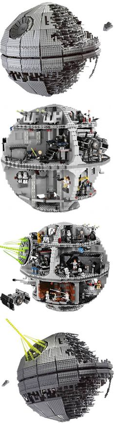 LEGO / Death Star.....can't wait to finish building it with my son!