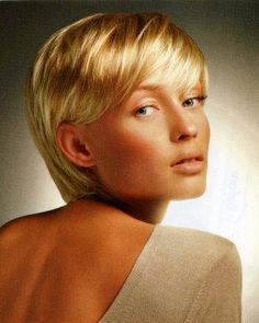 Image result for easy hairstyles for short fine hair