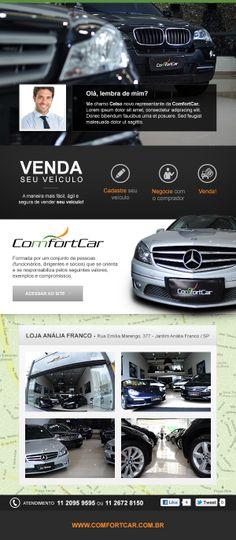 E-mail marketing desenvolvido para a ComfortCar.