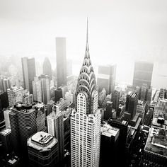 The Chrysler Building in New York City, a pinnacle of art deco style. I personally much prefer the style of this building to the Empire State Building because this is a little more grand to me but not inappropriately so.