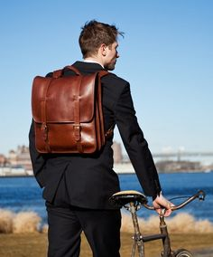 Backpack & Bicycle | Mens Fashion Magazine