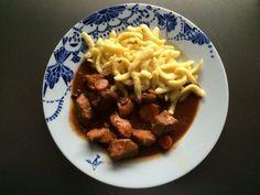 Gulasch Rezept mit Spätzle Mittagessen 27. November 2014