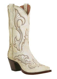 women's white western boots | ... Women's El Paso Leather Western Boots - White, Fashion Wear Boots