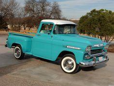 Todas las fotos del Chevrolet Apache 3100 Pickup 1959. La galería de fotos más completa del Chevrolet Apache 3100 Pickup 1959 - Foto 1