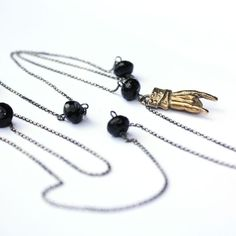 VANGLE Lucky Necklace  http://shop.vangle.it/gioielli-jewels/collezione-lucky-rock/collana-sfere-onice-manina