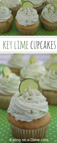 You have to try our Delicious Key Lime Cupcakes recipe. Get the flavor of Key Lime pie packed into a yummy cupcake.