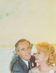 Two of the greats!!! Henry Fonda and Lucille Ball.