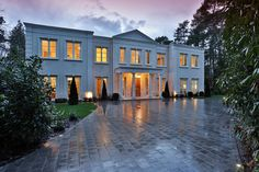 Wentwood, Surrey UK, Wentworth Dr, Virginia Water, Surrey GU25 4QT UK - page: 1 #mansion #dreamhome #dream #luxury http://mansionhomes.co/dream/wentwood-surrey-uk/