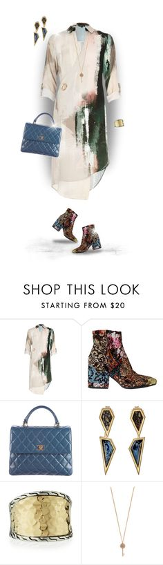 """""""Patterned Shoes"""" by joy2thahworld ❤ liked on Polyvore featuring River Island, Strategia, Chanel, Monique Péan, John Hardy, Aéropostale, RiverIsland, barneys, luisaviaroma and johnhardy"""