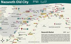 Map of the Nazareth