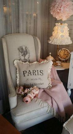 Paris chair… so shabby chic