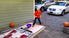 Short 5 sec. clip of this year's Halloween project. A life sized mousetrap. Just bate it with a little candy... and we'll be handing out clean shorts this year.