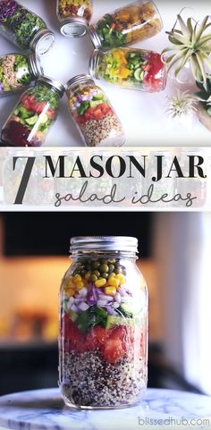 It can seem so hard to be healthy when you have to meal prep time consuming meals every week, luckily Evelina saves the day! I am absolutely in LOVE with her 7 Mason jar salad recipes because they are not only really quick an easy to make but also incredibly tasty and nutritious!