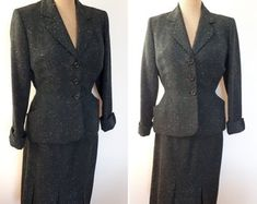 Lily Nolan Vintage by LilyNolanVintage on Etsy 1950s Outfits, Suit Jacket, Lily, Blazer, Unique, Clothing, Jackets, Vintage, Fashion