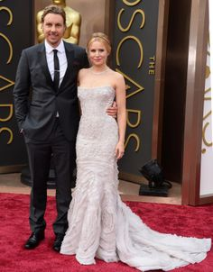 Kristen Bell and Dax Shepard at the Oscars 2014 Red Carpet.