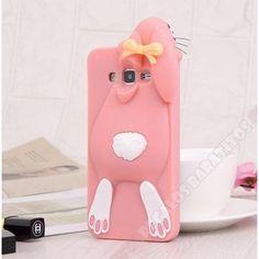Nueva Carcasa silicona divertida diseño conejo 3D para Galaxy S8 Plus