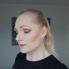 neutral brown makeup look with essence cosmetics Brown Makeup Looks, Neutral Makeup, Essence Cosmetics, Eyeshadow Palette, Swatch, Pearl Earrings, Nude, Pretty, Bead Earrings