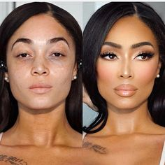 ho can handle alllll this? 😍 Before/After from the video transformation I posted a couple weeks ago. Face sculpting airbrush look neutral makeup One of my fav MUA of all time . like he has to do my wedding one day Natural glam - Painted by Spencer Gorgeous Makeup, Love Makeup, Makeup Tips, Beauty Makeup, Hair Makeup, Hair Beauty, Makeup Ideas, Bridal Makeup Looks, Wedding Makeup