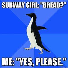 love Socially Awkward Penguin