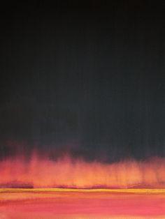 "Koen Lybaert; Watercolor, 2013, Painting ""Mutare"""