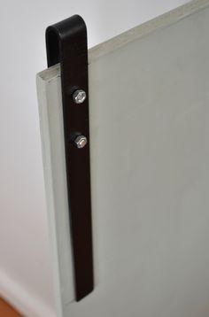Rear of DIY Barn Doors