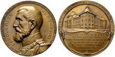NumisBids: H.D. Rauch Auction 94, Lot 4412 : MEDAILLEN: EUROPA UND ÜBERSEE KROATIEN RUMÄNIEN Karl I....