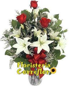 Rosas y Lilium