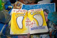 Wreck this Journal Feet