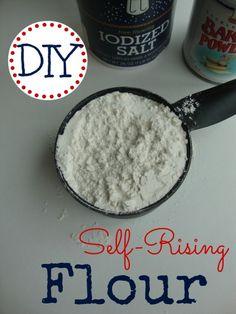 Self Rising Flour Substitute