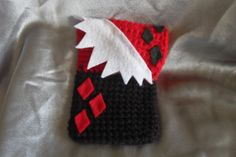 Harley Quinn inspired Smartphone/mp3 player by SnuggleStuffCrochet, $10.00