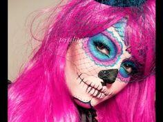 Dia De Los Muertos- Pink Sugar Skull/ Catrina TUTORIAL