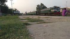 Mianwali Express Arriving To Shahdara Bagh Junction Pakistan Railways, Train, City, Cities, Strollers