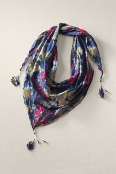 Women's Triangle Scarf  from Lands' End Canvas