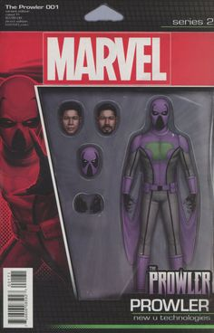 Prowler (Marvel) Vol 2 #1 Cover D Variant John Tyler Christopher Action Figure Cover (Clone Conspiracy Tie-In)