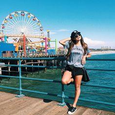 Santa Monica, já disse que te amo hoje? #LAlikealocal