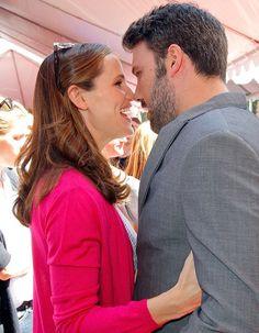 Jennifer Garner and Ben Affleck at the John Varvatos 2013 Stuart House Benefit in L.A.