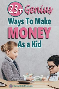 How To Make Money As A Kid: 23 Ideas To Get You Started Save Money On Groceries, Ways To Save Money, Money Tips, Money Saving Tips, How To Make Money, Money Hacks, Make Money From Home, Make Money Online, Savings Planner