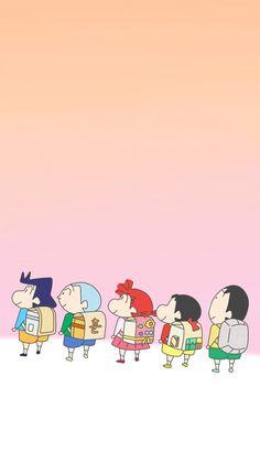 Sinchan Wallpaper, Cartoon Wallpaper Iphone, Live Wallpaper Iphone, Cute Cartoon Wallpapers, Galaxy Wallpaper, Sinchan Cartoon, Cartoon Drawings, Crayon Shin Chan, Whatsapp Dp Images